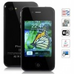 5G Quad Band Dual Cards with Wifi Java Touch Screen Cell Phone Image
