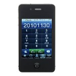 4GSI9+ Quad Band Dual Cards WiFi Java Touch Screen Cell Phone Image 2