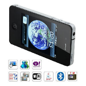 4GSI9+ Quad Band Dual Cards WiFi Java Touch Screen Cell Phone Image 1